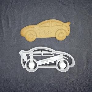 Autó, kocsi keksz, süti sütemény kiszúró forma, Otthon & lakás, Konyhafelszerelés, Egyéb, Mézeskalácssütés, Mindenmás, 3D nyomtatással készült autó kekszkiszúró.\nLegnagyobb mérete kb 6cm.\nSzemélyes átvétel Martonvásáron..., Meska