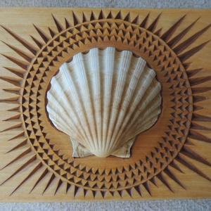 Kagylós ékszeres ládika, Otthon & Lakás, Tárolás & Rendszerezés, Famegmunkálás, Meska
