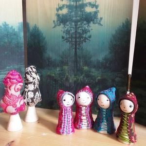 Ölelj át egy fát -textilkirakó kiegészítő gyerekeknek (ethnomandala) - Meska.hu