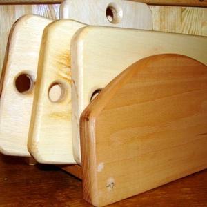 """Reggeliző-szalonnázó deszka szett asztali tartóban, Otthon & lakás, Konyhafelszerelés, Vágódeszka, Famegmunkálás, Réges-régi, mindennapi konyhai kellékünk \""""békebeli\"""" minőségű, egyanyagos, mosogatható, tartós kivite..., Meska"""