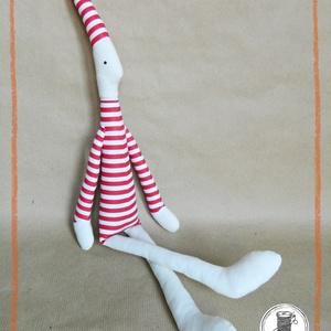"""HÓCHÓC, a Maszat-sorozat figurája (50 cm), Játék & Gyerek, Plüssállat & Játékfigura, Varrás, HÓCHÓC, a Maszat-sorozat figurája (50 cm)\n\n""""Hóchóc Maszat legjobb barátja, egy csíkos ruhás kis bohó..., Meska"""