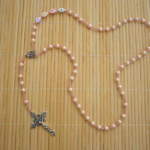 NÉVRE SZÓLÓ fiú/lány gyerek  rózsafüzér, keresztelő, első áldozás, bérmálás ajándék (Evamanufaktura) - Meska.hu