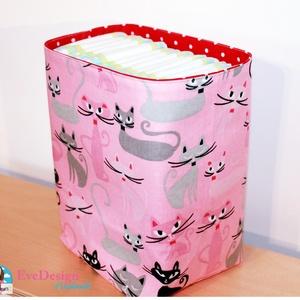 Textil tároló babaszobába (EveDesign) - Meska.hu