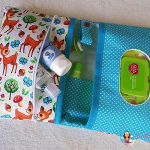 Babalátogató ajándék csomag névhímzéssel (EveDesign) - Meska.hu