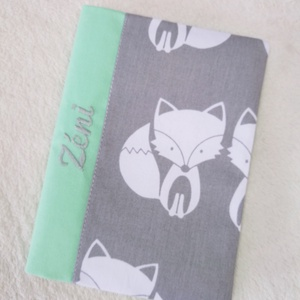 Eü kiskönyv borító textilből (EveDesign) - Meska.hu