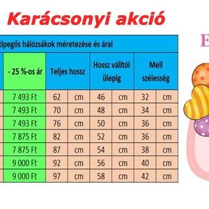 12-18 hós -Tipegős HÁLÓZSÁK-Extra téli (EveDesign) - Meska.hu