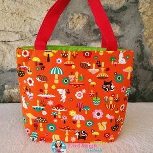 Gyermek textil kézi táska (EveDesign) - Meska.hu