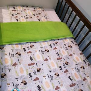 Babatakaró, Takaró, Lakástextil, Otthon & Lakás, Varrás, Csodaszép egyedi textilekből készült ágynemű szett.\n\nHárom rétegből áll. A felső réteg 100 %-os pamu..., Meska