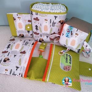 Babalátogató ajándék csomag névhímzéssel és takaróval, Babalátogató ajándékcsomag, Játék & Gyerek, Varrás, Ajándék csomag! Ajándék névhímzéssel! \n\nAmennyiben igényled úgy a kiskönyv borítóra és a pelenka tás..., Meska