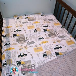 Babatakaró, Gyerek & játék, Gyerekszoba, Falvédő, takaró, Varrás, Csodaszép egyedi textilekből készült ágynemű szett.\n\nKét rétegből áll. A felső réteg 100 %-os pamut,..., Meska