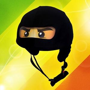 Cole ninja, lego ninjago, fekete ninja, ninjago XS-M bukósisakokra tervezve, Sisakhuzat & Üléshuzat, Ruha & Divat, Varrás, Hozd felszínre a gyermekedben rejlő bátorságot, merje megmutatni, mire képes!\n\nJunior méretű sisakhu..., Meska