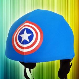 Amerika Kapitány sisakhuzat univerzális méretben, XS-XXXL bukósisakokra tervezve (Evercover) - Meska.hu