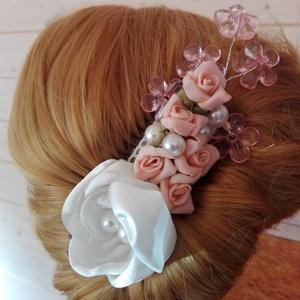 Díszfésű rózsákkal esküvőre (eviara) - Meska.hu