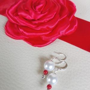 Menyecske szett piros rózsával (eviara) - Meska.hu