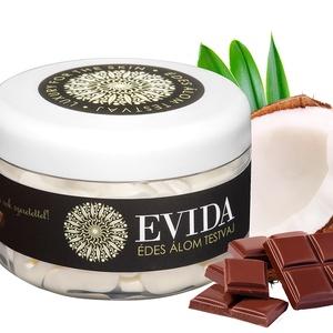 Kókuszos-csoki testvaj, Táska, Divat & Szépség, Szépség(ápolás), Kozmetikum, Kozmetikum készítés, Hidratált, rugalmas bőr? Érzékien csábító illat? Igen! Ez a testvajunk!\n\nMélyhidratáló hatású vajak,..., Meska