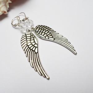 Nagy angyali fülbevaló (Evii) - Meska.hu