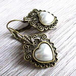 Szívemből Neked, Ékszer, Fülbevaló, Szeretettel teli ajándékötletre vágysz? Ez a fülbevaló igazán kifejezi a szeretetet. :) Romantikus, ..., Meska