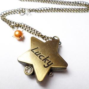 Szerencsés csillag óra (Evii) - Meska.hu