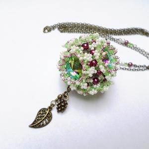 Flower Cube nyaklánc (Evii) - Meska.hu