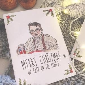 Reszkessetek betörős üdvözlőlap - FULLER Karácsonyi kézműves kinyitható üdvözlőlap , Karácsonyi képeslap, Karácsony & Mikulás, Otthon & Lakás, Fotó, grafika, rajz, illusztráció, EGYEDI, SAJÁT FELIRATTAL IS RENDELHETŐ!\n\nHa Te is a 90-es évek szülötte vagy, akkor ismerős lehet Ke..., Meska