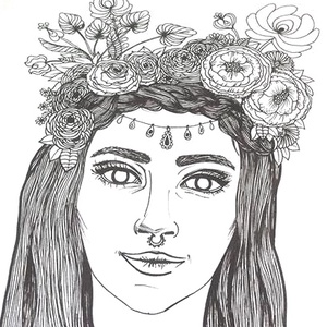 Lány rózsás virágkoszorúban tiarával, kiszínezhető díszpárna, Lányos ajándék, tiniknek ajándékötlet huzat+belső párna , Játék & Gyerek, Készségfejlesztő & Logikai játék, Varrás, Festészet, LKÉSZÍTÉS & SZÁLLÍTÁS:\nNormál elkészítési idő: 3-4 munkanap (+szállítási idő)\nSürgősségi elkészítési..., Meska