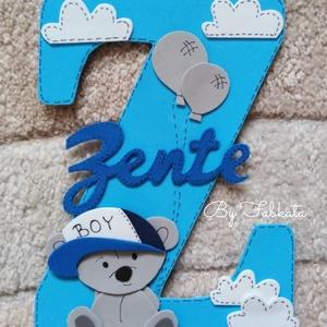 """Névtábla  \"""" Z \"""" betűs névhez dekorgumi dekor, Gyerek & játék, Gyerekszoba, Baba falikép, Otthon & lakás, Mindenmás, Egyedi névtáblák Z betűs nevekhez. Dekorgumiból készül, kartonra van felragasztva, hátoldalon ragasz..., Meska"""