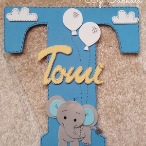 Névtábla T betűs névhez dekorgumi dekor, Gyerek & játék, Gyerekszoba, Baba falikép, Otthon & lakás, Mindenmás, Egyedi névtáblák T betűs nevekhez. Dekorgumiból készül, kartonra van felragasztva, hátoldalon ragasz..., Meska