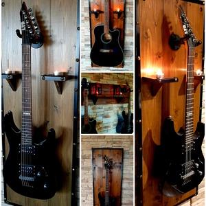 Egyedi gitártartók készítése, Művészet, Hangszer & Hangszertok, Fémmegmunkálás, Famegmunkálás, https://vegyelhazait.hu/product/rusztikus-fali-diszek-lampas-tartok-3582 \n\nJó napot, tiszteletem min..., Meska