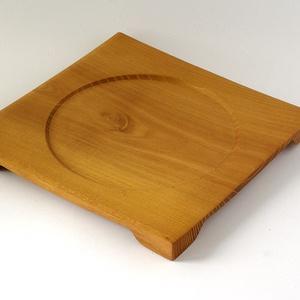 Sarkos-egyedi kézműves termék akácfából (faesztergalo) - Meska.hu