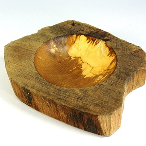 """Újjászületés II. - egyedi kézműves termék, Otthon & Lakás, Kínálótál, Konyhafelszerelés, """"A FA AZ EMBERI ÉRINTÉSTŐL CSAK NEMESEBB LESZ""""  Mert mindenkinek jár még egy esély!  Kinevettek a fa..., Meska"""
