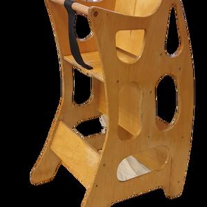 4 funkciós fa ETETŐSZÉK - hinta - asztalka - ülőke, Otthon & Lakás, Bútor, Más bútor, Famegmunkálás, Megrendelhető a képeken látható, saját kézi készítésű, többfunkciós, lakkozott fa etetőszék: rendkív..., Meska