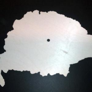 Óra alap nagy magyrország térképpel alapanyag trnaszfer és pirograf technikához , Dekoráció, Otthon & lakás, Lakberendezés, Falióra, óra, Famegmunkálás, Óra alap nagy magyrország térképpel\nAnyaga falemez 4 mm vastag.\n8 mm lukkal a közepén.\nMérete 35*22 ..., Meska