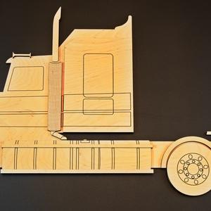 Modell autó tartó polc ( Matchbox tartó ) (fafantazia) - Meska.hu