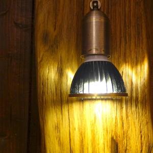 Lámpa, Otthon & Lakás, Lámpa, Fali & Mennyezeti lámpa, Famegmunkálás, Vastag,tömör hasított tölgyfából készült falilámpa. Faolajjal átitatva gyakorlatilag örökös darab. A..., Meska
