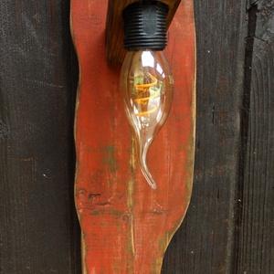 Fali lámpa, Otthon & Lakás, Lámpa, Fali & Mennyezeti lámpa, Famegmunkálás, Meska