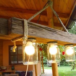 Mennyezeti lámpa, Otthon & Lakás, Lámpa, Fali & Mennyezeti lámpa, Famegmunkálás, Meska