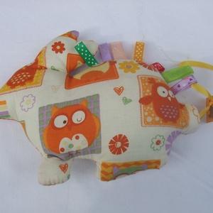 Címkejószágok, címkés állatkák RENDELÉSRE!, Játék & Gyerek, Plüssállat & Játékfigura, Varrás, Címkemániás babáknak készítek kézzel varrt címkés állatkákat, pamutvászonból, puha műszálas béléssel..., Meska