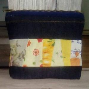 Mini patchwork neszesszer - Meska.hu