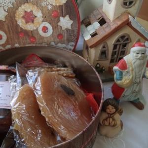 Karácsonyi  édes izek....gasztroajándék... , Kulinária (Ízporta), Lekvár, Gabonák, magvak, Édességek, Élelmiszer előállítás, Karácsony ünnepi hangulathoz váltsunk gasztroajándékra, \nEgy dekoratív fémdobozka tele édes finomság..., Meska