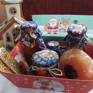 karácsonyi  Fűszervarázs csomag,, Élelmiszer, Ajándék gasztro kosár, Élelmiszer előállítás, --------------------------\nA fűszervarázs kosárt annak ajánlom aki szereti és élvezi az ételek elkés..., Meska