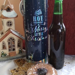 Karácsonyi Ajándék Barátomnak., Élelmiszer, Ajándék gasztro kosár, Élelmiszer előállítás, Az egyre nagyobb mértékben felgyülemlő tárgyak helyett váltsunk gasztroajándékra, \n\nA donoz tartalma..., Meska