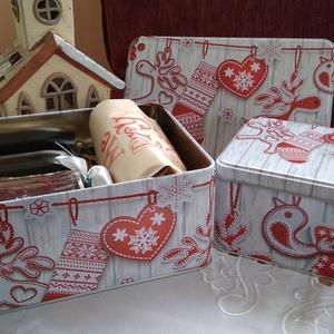 Karácsonyi ízek....2 az 1-ben, Élelmiszer, Élelmiszer előállítás, Az egyre nagyobb mértékben felgyülemlő tárgyak helyett váltsunk gasztroajándékra,\n\n2 az 1-ben összeá..., Meska