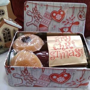 Karácsonyi meglepetés doboz, Élelmiszer, Élelmiszer előállítás,  \nA egyre nagyobb mértékben felgyülemlő tárgyak helyett váltsunk gasztroajándékra,\nfinom és egészség..., Meska