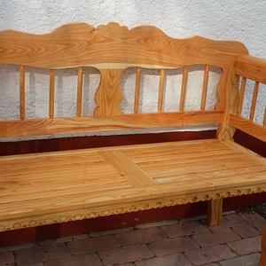 """Pad, Kertipad \"""" a szépség \"""", Otthon & Lakás, Ház & Kert, Kerti bútor, , \n\nPad- kerti-pad\n\nRitkaság! Csodálatos kerti pad\n\nKiváló minőségű kivitelezés Korona akácfából\n\nA há..., Meska"""