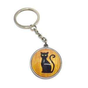Cicás, macskás kulcstartó, táskadísz, Táska, Divat & Szépség, Kulcstartó, táskadísz, Ékszerkészítés, Ez a cicás nemesacél kulcstartó vagy táskadísz remek ajándék lehet szeretteidnek. Válaszd ki a számo..., Meska