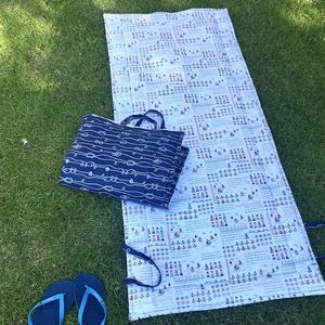 KIÁRUSÍTÁS - 2 darabos napozó szőnyeg, matrac, strandszőnyeg szett - tengerész, hajós mintával, Otthon & Lakás, Ház & Kert, Varrás, Meska