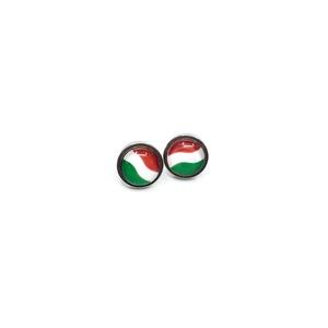 Magyar zászlós nemzetiszín fülbevaló, Ékszer, Fülbevaló, Magyar motívumokkal, Táska, Divat & Szépség, Kokárda, Ékszerkészítés, Szurkoláshoz sporteseményekre, nemzeti ünnepekre, magyar ajándéknak is kiváló választás.\nA nemesacél..., Meska