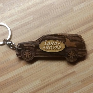 Kulcstartó Land Rover!, Karácsony, Famegmunkálás, Mindenmás, Meska