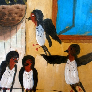 Fecske madarak (FANYUVASZTO) - Meska.hu