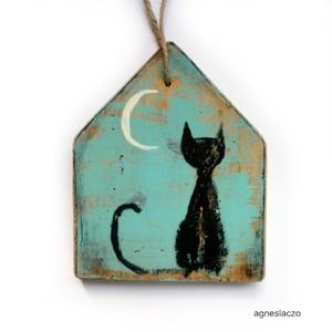 Fekete macsek  (FANYUVASZTO) - Meska.hu